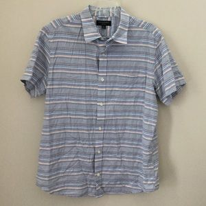 Men's BANANA REPUBLIC Button-Down LARGE